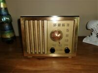 Antique 1947 RCA Radio, Model 54X, Restored