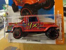Hot Wheels Jeep Scrambler HW Stunt red