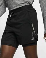 "Nike Flex Stride Men's 5""/13cm 2-in-1 Running Shorts,  Small - AJ7782-010, Black"