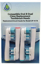 16 PCS Replacement Electric Toothbrush Heads Soft SB-417A For Oral Braun
