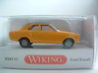 Wiking 0203 03 H0 1/87 Ford Escort OVP B227