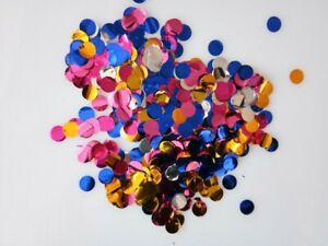 1000Pcs Round Paper Materials Confetti Colorful Paper Confetti Surprise Party