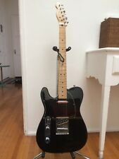 Left Handed Fender Telecaster MIM Lefty Guitar 2013 Solid Black Tele