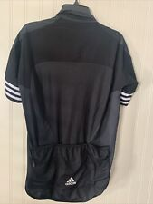 Men's adidas Adistar Maillot Cycling Form Fitting Jersey Black Size Large CV7089