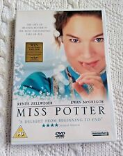 MISS POTTER – DVD, REGION-2, LIKE NEW, FREE POST WIHIN AUSTRALIA