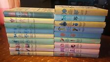Lot of 22 Vintage 1950's Junior deluxe ed books Hard back Childrens classics