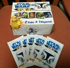STAR WARS STAKS - PANINI - CARD MAGNETICHE CLONE WARS - BOX COMPLETO.