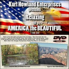 """""""RELAXING in AMERICA"""" A Calming &  Relaxing Video to refresh the mind, DVD"""