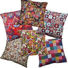 Pillow Cover*A-Grade Cotton Canvas Sofa Seat Pad Cushion Case Custom Size*Lf2