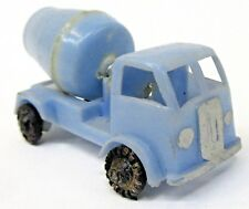 c.1960 Blue-Box 7425 CEMENT TRUCK Hong Kong light blue plastic Matchbox Copy