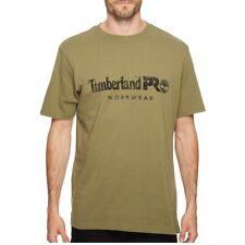 Timberland PRO Men's Performance Cotton Core Short Sleeve Crew Neck T-Shirt Tee