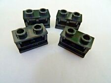 Articulated Joint Black /& Grey 2+2 LEGO Technic 4 x Double Hinge Plate