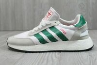 52 Adidas Mens Originals I-5923 Bold Green White Red Athletic Shoes US 8 D96818