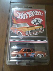 2019 Hot Wheels Kroger Mail In 1964 Dodge 330 Orange