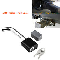 CZC AUTO Trailer Hitch Receiver Lock Dia 5//8 Inch Bent Pin for Class III IV 2 2-1//2 Inch Receiver Fits Bike Rack Tray Ball Mount for Towing Trailer Truck Car Boat RV Dogbone Style Hitch Pin Lock