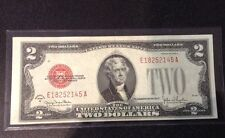 1928 $2 Red Seal Note