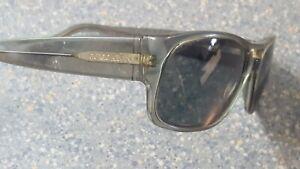 Giorgio Armani Gray Square Designer Sunglasses Made in Italy