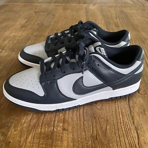 New Nike Dunk Low Retro Georgetown Shoes Men's Size 11.5 - DD1391-003