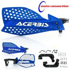 NEW ACERBIS X-ULTIMATE BLUE & WHITE INSERT HANDGUARDS YAMAHA YZF250 YZF450 2008