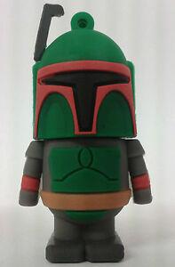 Boba Fett Star Wars 16GB USB 2.0 flash drive memory stick