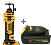 DEWALT DCS551B 20V MAX Cordless Li-Ion Drywall Cut-Out Tool New DCB201 Battery
