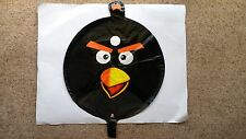 BLACK ANGRY BIRD BIRTHDAY PARTY FOIL HELIUM BALLOON 45CM NEW!