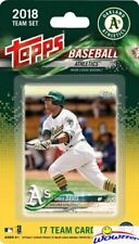 Oakland Athletics 2018 Topps Baseball EXCLUSIVE 17 Card Team Set - Khris Davis