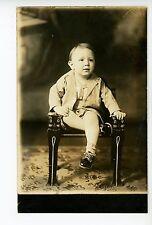 """""""Cat Chair"""" RPPC Antique Fantasy Metamorphic Furniture—Cut Kid Studio Photo~1920"""
