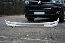 VW T5 09-15 Caravelle Multivan Front Bumper spoiler lip Valance addon ABT style