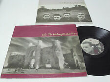 U2 The Unforgettable Fire - PORTUGAL LP - 2nd Portuguese release [ .38 ]