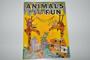 Walter T. Foster Animals are for Fun Drawing Cartoon Animals instruction Book