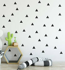 40 Wall sticker Triangle Silhouette daycare deco cartoon room modern nursery