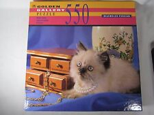 Golden Gallery Puzzle Bejeweled Persian Cat 550 Piece