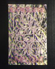 Rare Vintage 90s Club Flyer: NEW YEAR'S EVE 1995 @  LIMELIGHT NYC