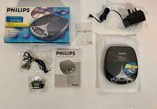 Philips AZ7562/05 Portable CD Player PERSONAL 20 SEC ESA - AC Adapter Headphones