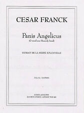 Cesar Franck Panis Angelicus Medium Voice/Piano Learn Sing Vocal Music Book