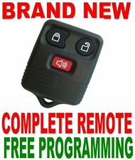 NEW COMPLETE 3BUTTONS REMOTE FOR FORD OEM KEYLESS ENTRY TRANSMITTER FOB CLICKER