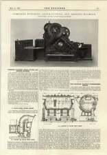 1914 Frances Berry Sowerby Bridge Machine Roller Metal Mixer