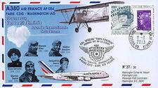 """A380-203T2 FFC """"Airbus A380 Air France Flight 100% Female Paris-Washington"""" 2013"""