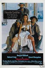 Hannie Caulder Raquel Welsh vintage movie poster print