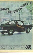 PUBLICITE ADVERTISING   1964   FIAT 850 Automobiles