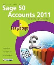 Sage 50 Accounts 2011 In Easy Steps,Gilert, Gillian,New Book mon0000063663