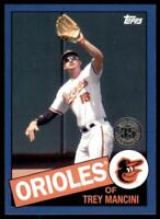 2020 Topps Series 2 1985 Blue #85TB-5 Trey Mancini - Baltimore Orioles