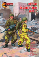 Mars Figures 32026 - 1/32 - Russian asault troops WW II 12 figures