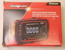 Snap On Eedm525f Digital Multimeter Enhanced True Rms With Color 4 Lcd