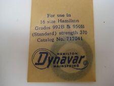 HAMILTON  16s  DYNAVAR #717041 / #35434 / Standard  ( 992B - 950B )