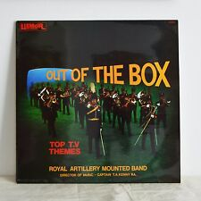 ROYAL ARTILLERY BAND Out Of The Box RARE UK LP '74 Hawaii 5-0 Mission Impossible