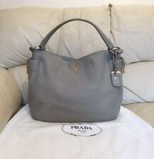 Prada Bag Tote, Shoulder, Slouch Hobo Style, 100% Authentic