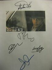 11/22/63 Signed TV Script James Franco Stephen King Josh Duhamel Lucy Fry reprnt