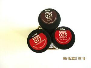 Revlon Super Lustrous Lipstick (Various Shades) 017 023 021 USE DROP MENU